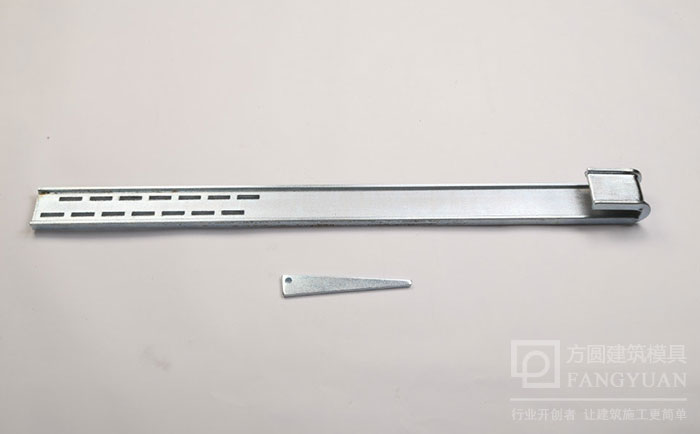 方柱卡具单臂弯板及固定销