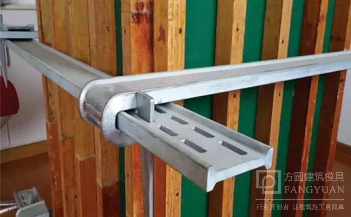 方柱卡具可调节加固柱子尺寸