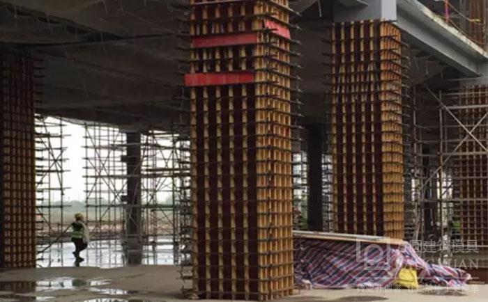 新型方柱扣支模施工
