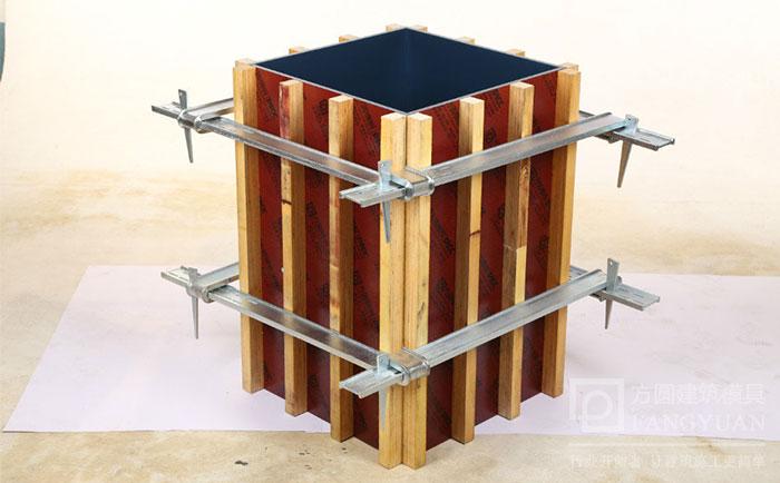 方柱夹具加固效果